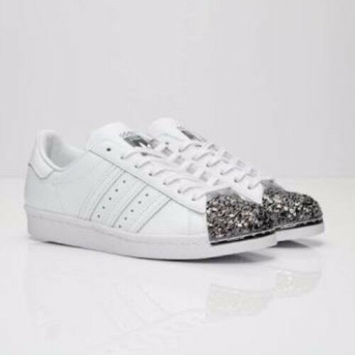 Adidas Superstar 80's white black metal toe US 8.5 40 2/3