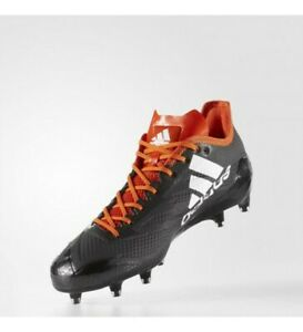 Nuevo-Adidas-Adizero-5-Star-6-0-Bajo-Futbol-Tacos-Negro-Blanco-Naranja-Size-18