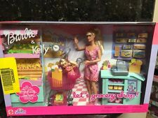 Barbie Kelly Grocery Supermarket/Lots of Food Mart Mattel New Playset Last One