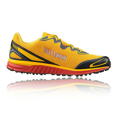 Helly Hansen Pathflyer HT Mens Yellow Waterproof Trail Running Sports Shoes