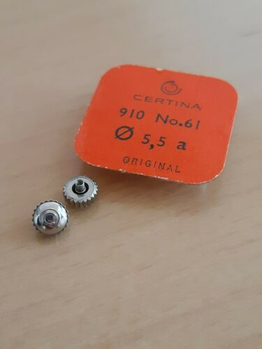 crown // krone tubus 2,5mm NOS Certina original vintage 5,5mm tap 1,1mm