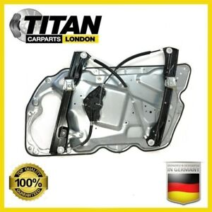 For-VW-Passat-B6-Front-Right-Side-With-Panel-Electric-Window-Regulator-3C1837462