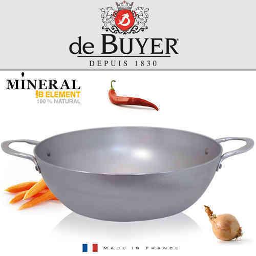 De Buyer-Minérale B EléHommest round profondeur poêle 32 CM