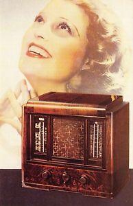 Nostalgia-Postcard-Philips-Radio-1936-Advertisement-Reproduction-Card-N253