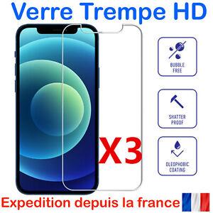VERRE TREMPE IPHONE VITRE PROTECTION ECRAN XS XR 13 12 11 PRO MAX SE 6 7 8 +