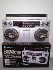 Innovative Technology Digital Mix Maker  Classic Boombox iPod/Phone Dock MP3