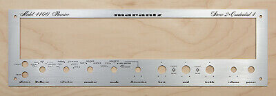 Face Plate in Black Marantz Model 2325 Amplifier Front Panel Faceplate New