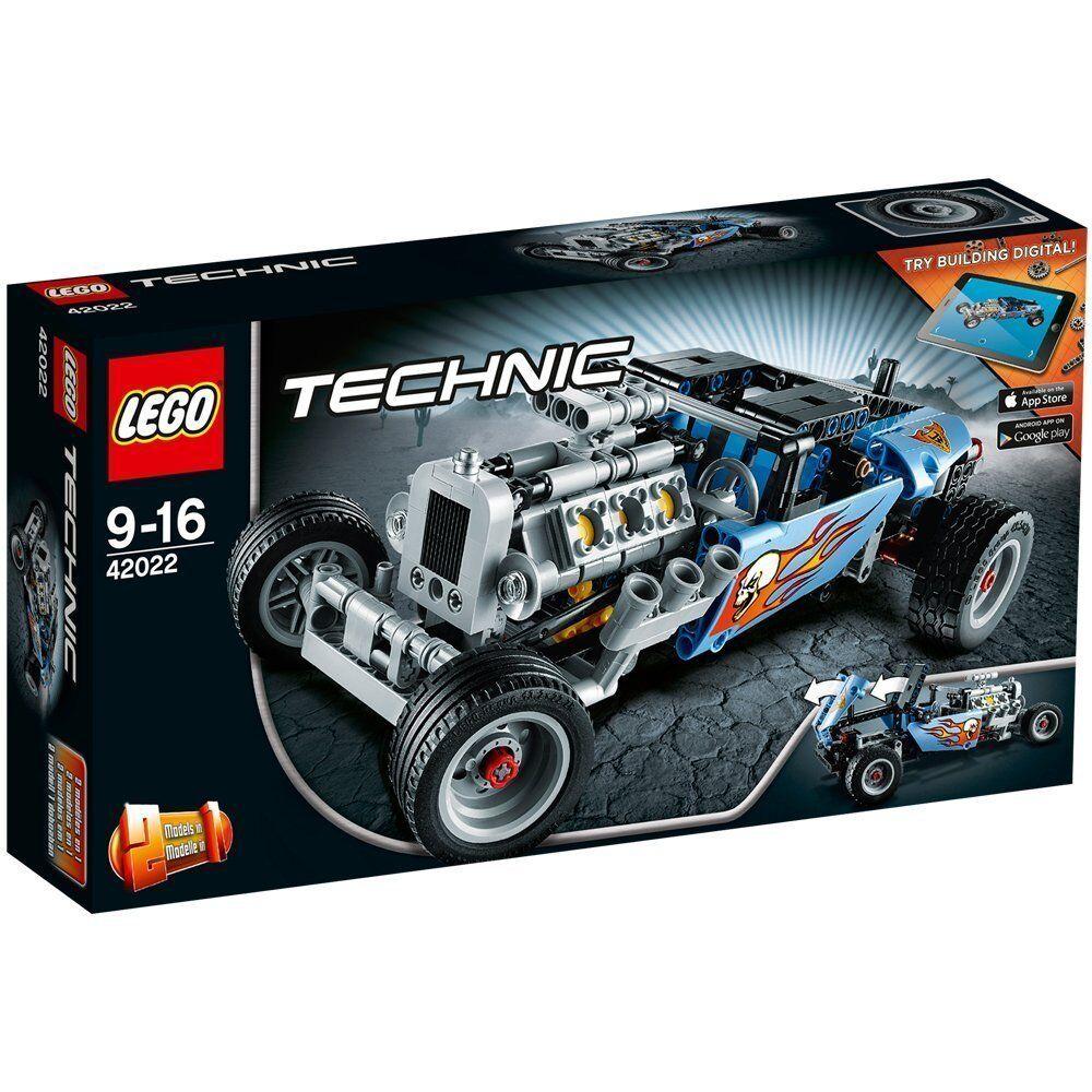 Lego Technic™ 42022 Hot Rod Nuovo Confezione Originale Misb