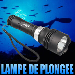 Marine Lampe 50m Torche Cree Détails Xm Plongée Sur T6 Étanche De 3000 Sous Lumens L Led A ED29YWHI