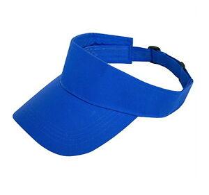 473a1591163 New Blank Golf Sports Summer Sun Visor Hats Visors Cotton 9 Colors ...