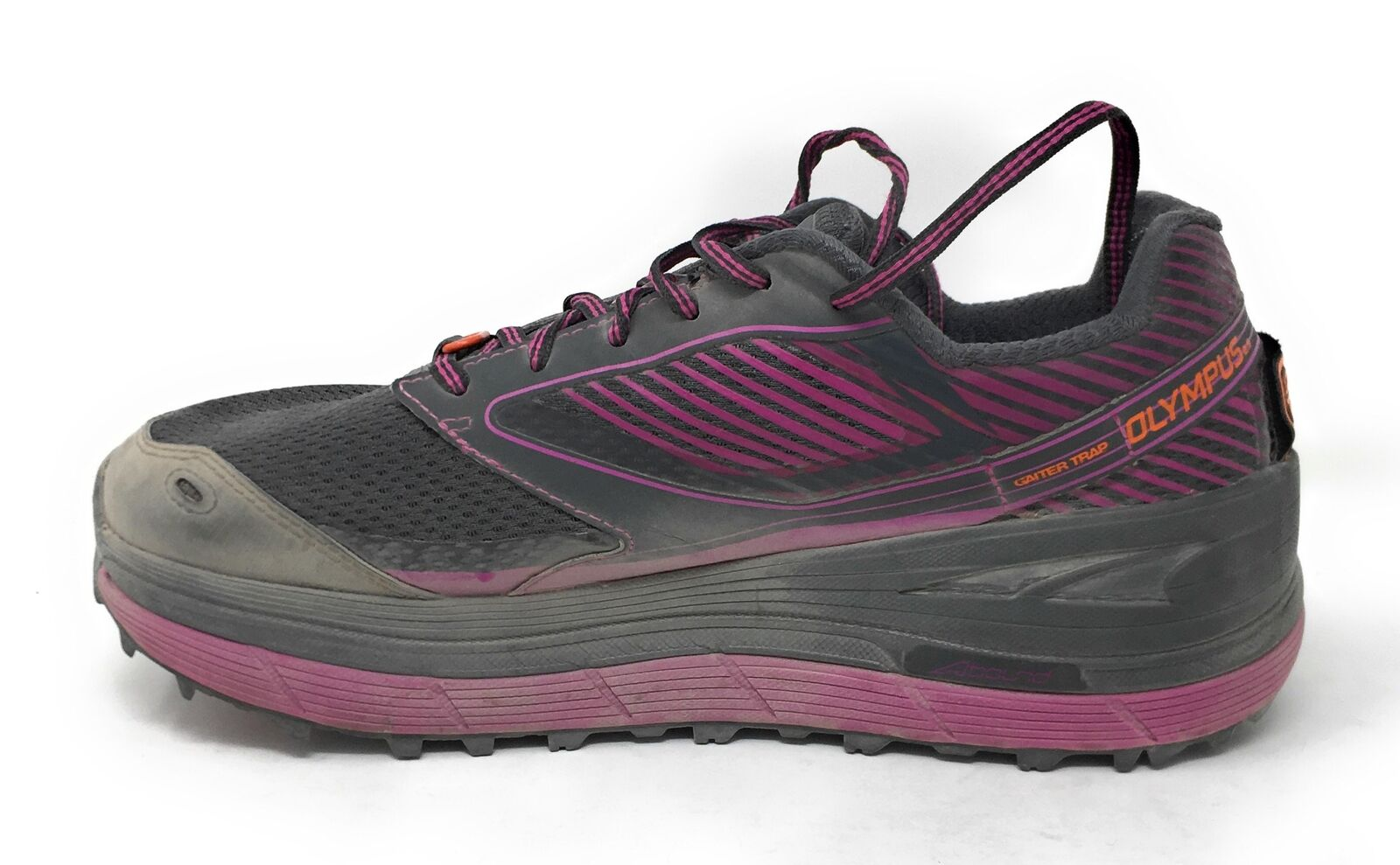 Altra Women's Olympus 2.5 Trail Running shoes, Purple - 8.5 B(M) US - USED