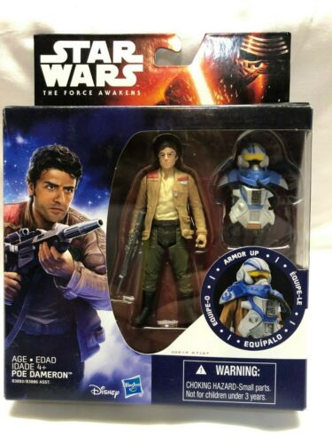 Star Wars The Force Awakens Poe Dameron 3.75 In Action Figure New 2015