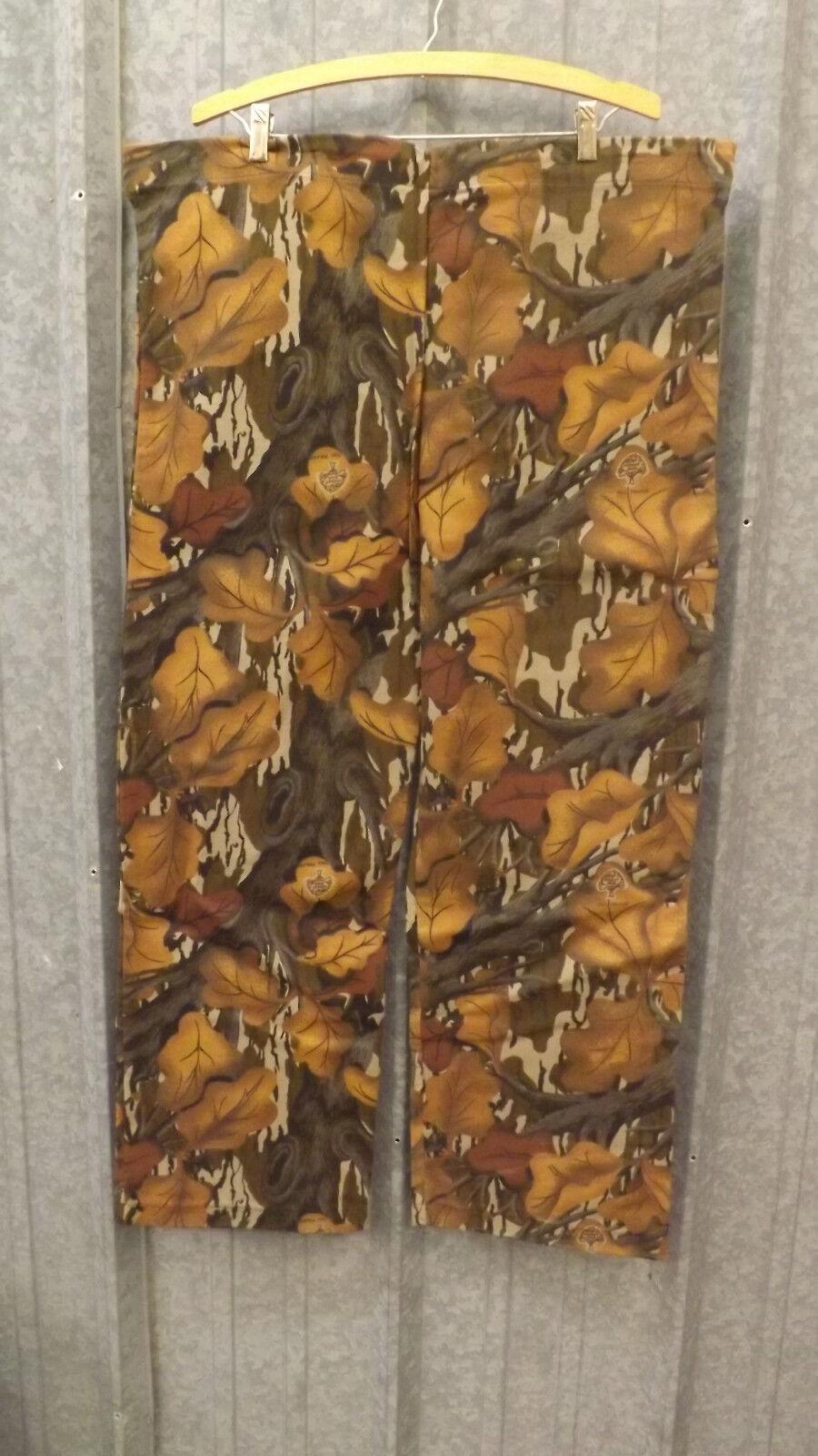 De Colección Nuevo blancowater Outdoors Mossy Oak Otoño Follaje Pantalones Cintura con Cordón Talle M