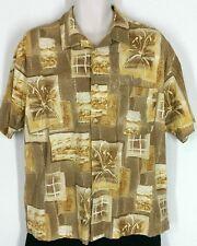 Munsingwear Mens XL Hawaiian/Tropical/Beach/Camp Shirt Short Sleeve Button Down