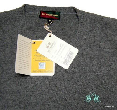 Original Martina Wool Grey 100 Uomo La Maglione Jersey xgqBwawF