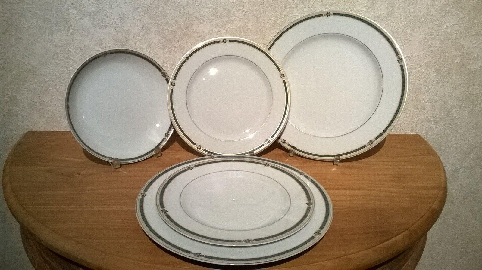 Medard de de de Noblat NEW Cantani Grün Set 5 Assiettes Set 5 Plates d5378d