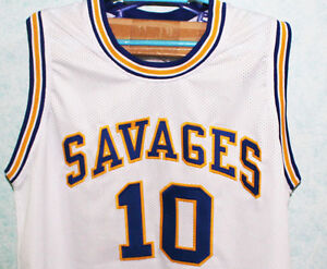 finest selection d1496 c9441 DENNIS RODMAN #10 OKLAHOMA SAVAGES JERSEY WHITE NEW SEWN ANY ...
