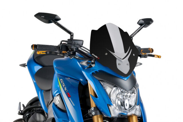PUIG WINDSHIELD NAKED N.G. SPORT SUZUKI GSX-S1000 2017 BLACK