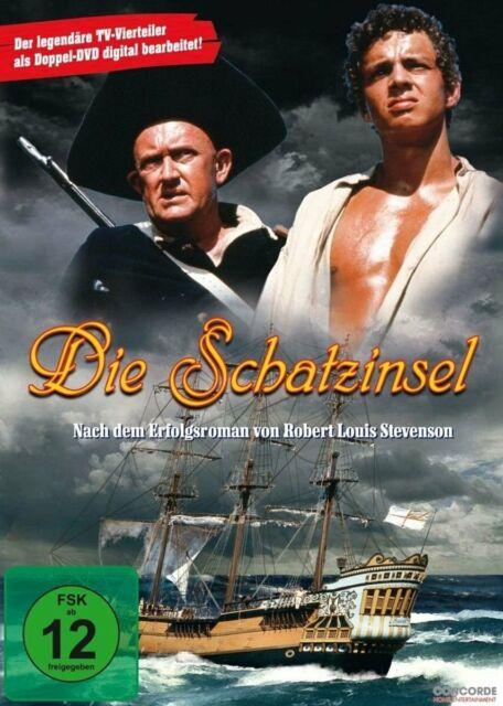 L'isola del tesoro (1966) [2 DVD's/Nuovo/Scatola Originale] La leggendario ZDF TV-Quattro Divisori