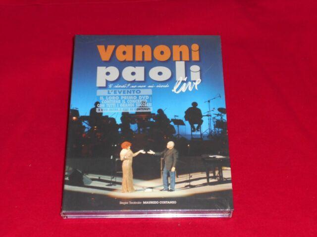 Vanoni & Paoli Live. Ti ricordi? No, non mi ricordo (2 Dvd) digipack