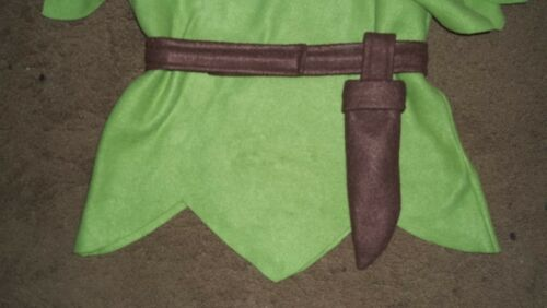 BELT and Sheath for a Peter Pan or Pirate costume Custom made to your specs