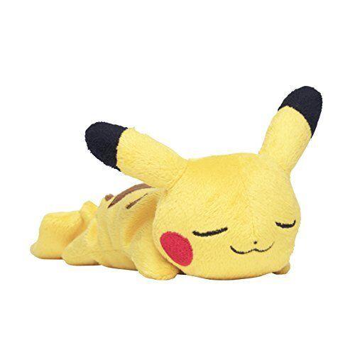 Pokemon Center Original Plush Plush Plush Doll Kuttari Sleeping Goodnight Pikachu Stuffed 1e4cd4
