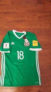 ea18b6e52 Image is loading ADIDAS-MEXICO-QUALIFIERS-WC2018-RUSSIA-GUARDADO-2017-M-