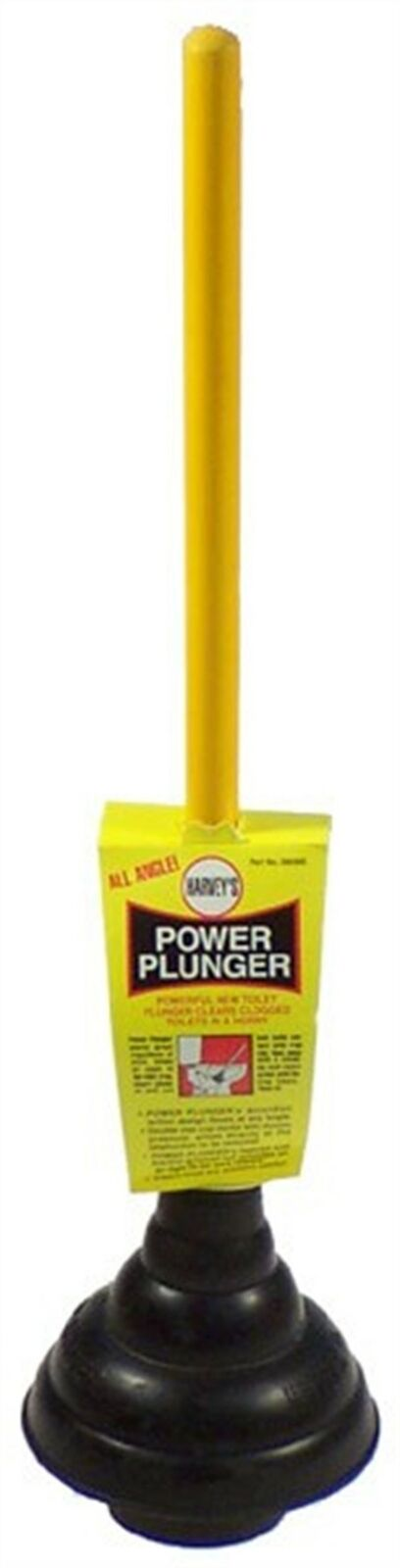 WM Harvey 90300 Rubber Cup Power Plunger with 21 in. Wood Handle (Pack of 6)