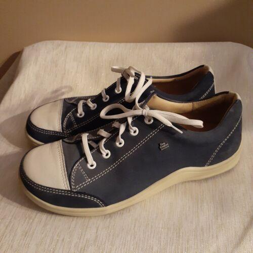 Women's Womens Finn Comfort Blue Sneakers Shoes Si