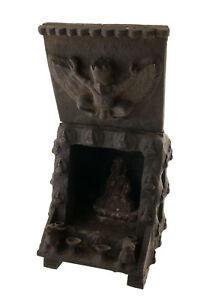 Tempio-Tibetano-Altare-Pagoda-Con-Soprammobile-Budda-Tibet-63x45cm-5417