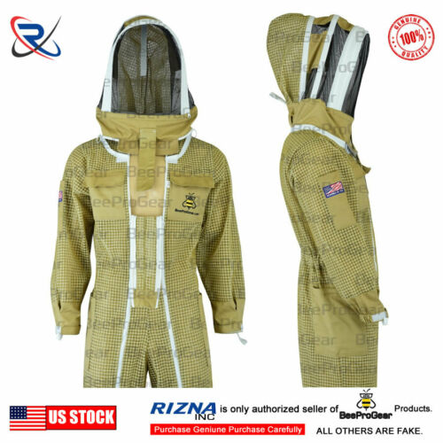 Pilot Beekeeping Suit Ultra Ventilated 3 Layers Extra Ordinary Features Size XL