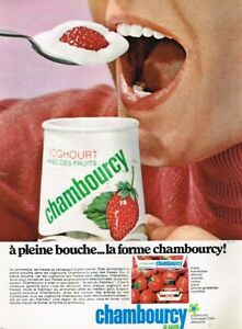 K-Publicite-Advertising-1968-Dessert-Yoghourt-aux-fruits-Chambourcy