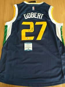 reputable site a053f 81307 Details about RUDY GOBERT - Utah Jazz Signed Jersey with COA