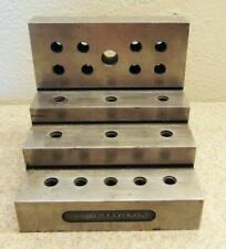 Threaded Stepped Machinist Right Angle Block 4 18 X 4 X 4 316