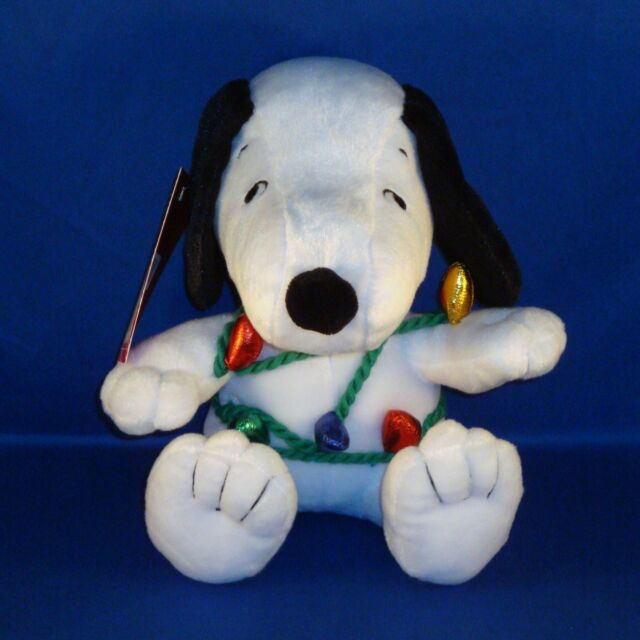 Hallmark - Wrapped in Merry - Snoopy Christmas Plush - The Peanuts Gang - NEW