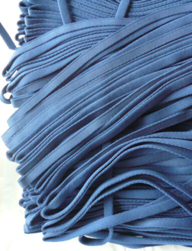 Periwinkle Blue Bra Making Wire Casing// Wire Channelling 10mm Plush Back
