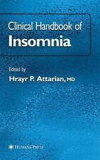 Clinical Handbook of Insomnia (Current Clinical Neurology)-ExLibrary