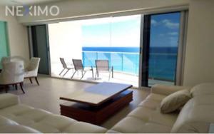 Oportunidad de departamento en venta frente al mar Zona Hotelera Cancún