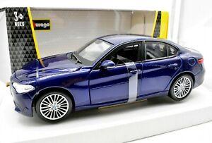 Modello di auto ALFA ROMEO GIULIA BURAGO SCALA 1/24 VEICOLI DIECAST modellcar