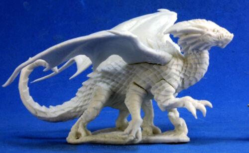 1x DRACOLISK - BONES REAPER figurine miniature rpg jdr dragon winged ailes 77379