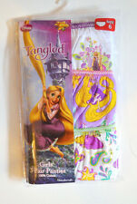Disney Tangled Girls 3 Pack of Panties Underwear Size 6 NIP