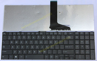 TOSHIBA Satellite C855D-S5202 C855-S5343 US English Laptop KEYBOARD