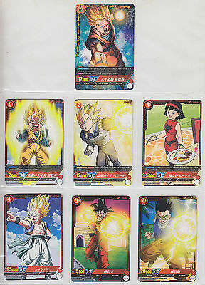 Complete Set 62 Cards IC Carddass Dragon Ball Part 1 BT01 CR Common, Rare