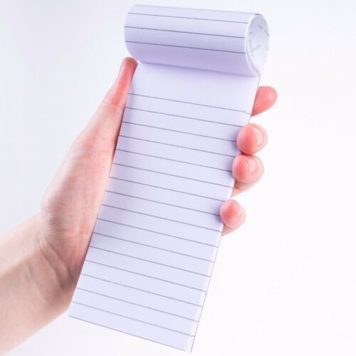 60x BULK PACK SHOPPING LIST//MEMO JOTTERS Lined Easy Tear Slim Mini Note Book//Pad
