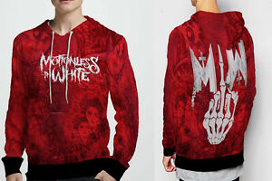 Motionless In white Collection Hoodie Men/'s Fullprint