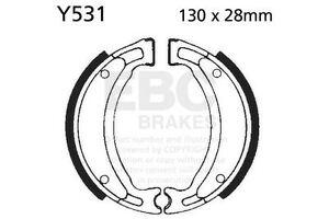 Ajuste Yamaha T135 HC/S (2S61) Crypton X 06 >     08 EBC Liso Zapato Trasero Izquierdo