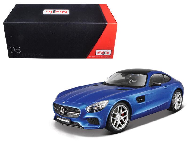 Maisto 1 18 Mercedes Benz Benz Benz AMG GT Exclusive Edition Diecast Model bluee (38131) 353005