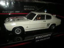 1:18 Minichamps Ford Capri 1969 Autobahnpolizei Düsseldorf Nr. 150089090 OVP