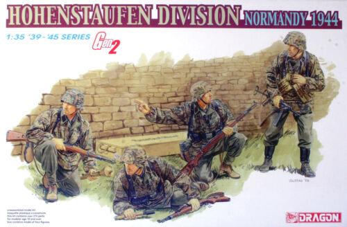 4 Figures DRAGON 6282 1//35 Hohenstaufen Division Normandy /'44