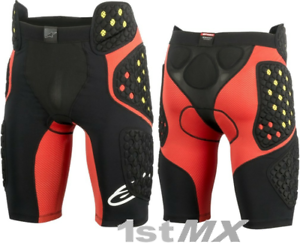 Alpinestar Sequence Pro Motocross MX Race Impact Shorts Adult Large 32-36